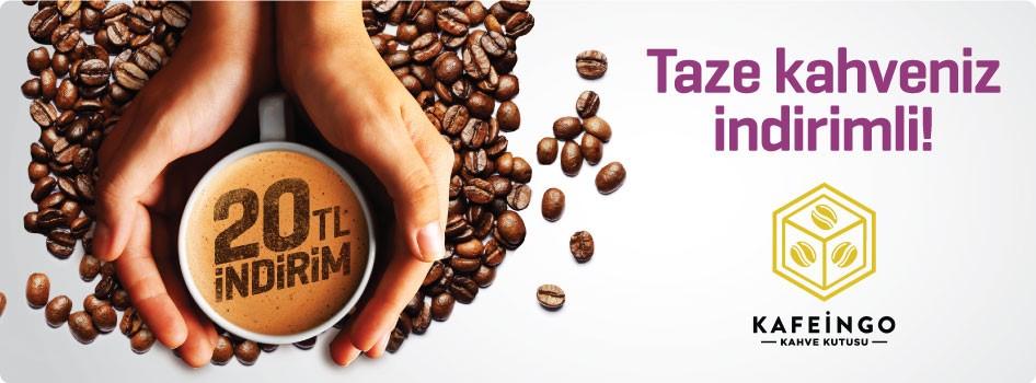 Kahve keyfinize anında 20 TL indirim!