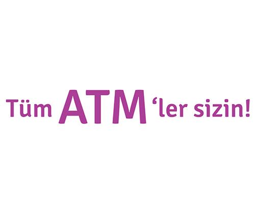 Diğer banka ATM'lerinden ayda 1 defa ücretsiz para çekin!