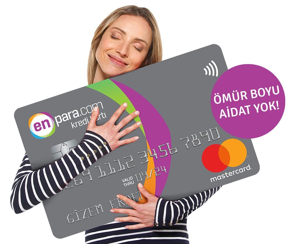Ömür boyu kredi kartı aidatı yok!