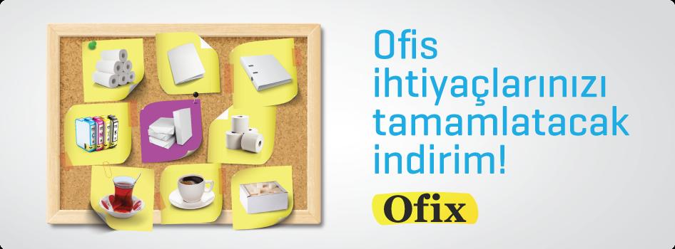 Ofix.com'dan yapacağınız alışverişleriniz yıl sonuna kadar %20 indirimli!
